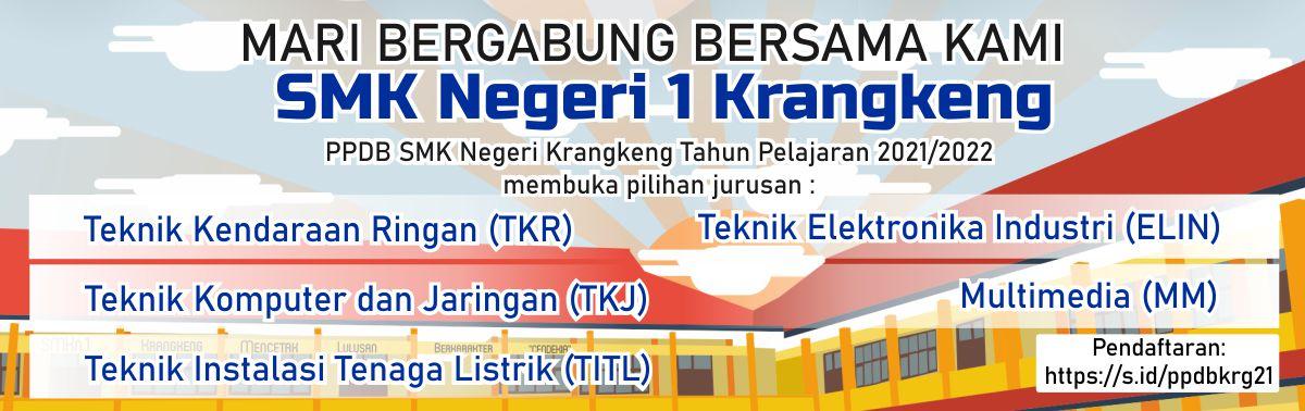PPDB SMKN 1 Krangkeng TP. 2021/2022